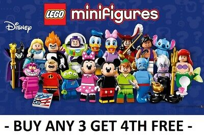 Lego Minifigures Disney Series 1 71012 Pick Choose Your Own  + Buy 3 Get 1 Free