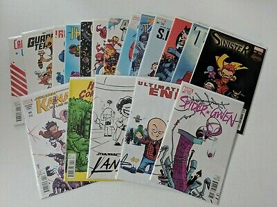 Skottie Young Baby Variant Cover Lot of 18 Marvel Comics