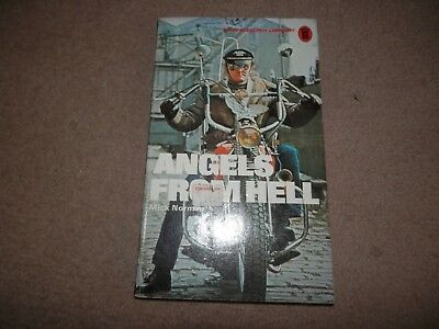 Mick Norman Angel's From Hell 1st / 2nd New English Library NEL 1974