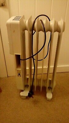 ELECTRIC HEATER ON WHEELS, OIL FILLED ELECTRIC HEATER, lot 10