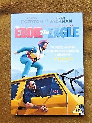 Eddie The Eagle Dvd With Cover Sleeve