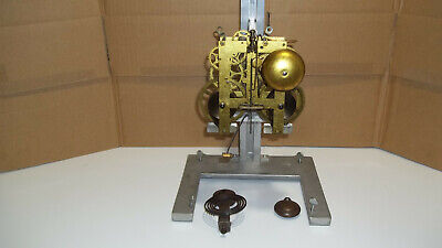 E. N. Welch Time And Strike Movement With Original Pendulum Bob & Coil Gong