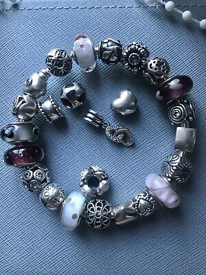 Genuine Silver Pandora Charms - 925 Ale