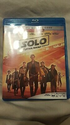 Solo: A Star Wars Story (Blu-ray, 2018 Lucas Film) No Slipcover Canadian