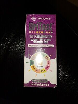 Health Wiser Urinalysis Reagent Strips Complete 10 Parameter 150 Test Strips