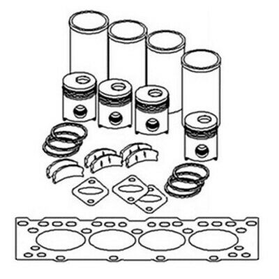 In Frame Engine Overhaul Rebuild Kit For Caterpillar 3306 Pai Brand