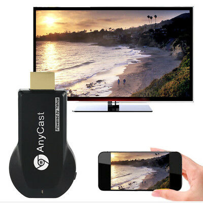 Wireless HDMI Mirror Screen Display Adapter 1080P TV Airplay Miracast Dongle