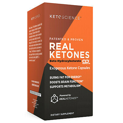 KetoScience REAL KETONES Beta-Hydroxybutarate GoBHB EXOGENOUS Dietary Supplement