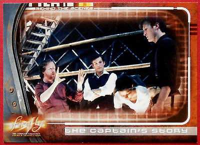 Joss Whedon's FIREFLY - Card #66 - The Captain's Story - Inkworks 2006