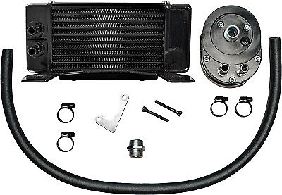Jagg Oil Coolers Horizontal 10 Row Oil Cooler 750-2300 Black