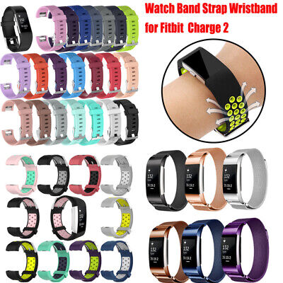 Various Replacement Wristband Watch Band Strap Bracelet Band For Fitbit Charge 2