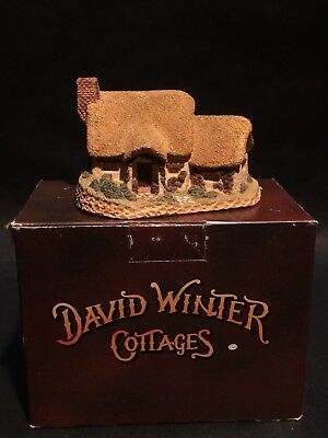 1980 Rose Cottage David Winter Cottages Hand Made & Painted England in Box