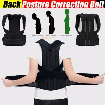 Posture Corrector Magnetic Posture Corrective Therapy Back Brace for Men & Women