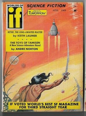 If Worlds of Science Fiction combined with Worlds of Tomorrow April 1969