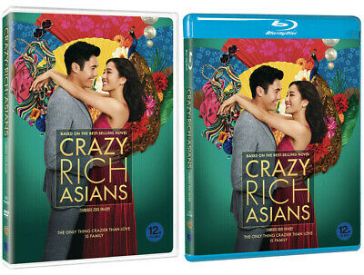 Crazy Rich Asians (2019, DVD, Blu-ray) Pick one!