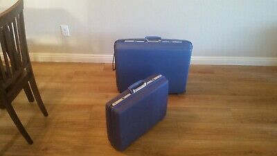 Samsonite Concord 2 Piece Luggage Set ~ Personalized w/ JP & FP Initials