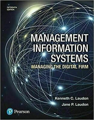 [PDF] Management Information Systems Managing the Digital Firm 15th