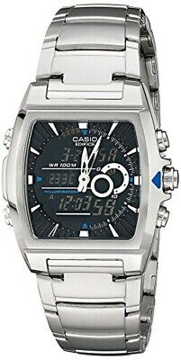 CASIO EDIFICE thermometer EFA-120D-1AV Mens watch New From Japan