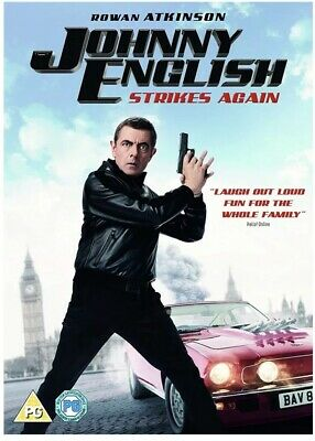 Johnny English Strikes Again - DVD New