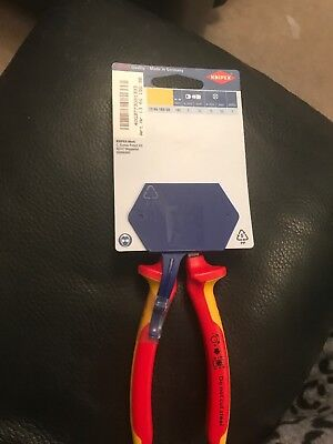 """Knipex 13 66 180mm SB """"Strix"""" VDE-Tested Cable Shears/insulation Strippers,..."""
