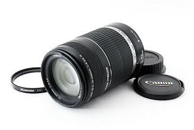 Canon EF-S Lens 55-250mm f4-5.6 IS EXC+++ from JP 2437 384447