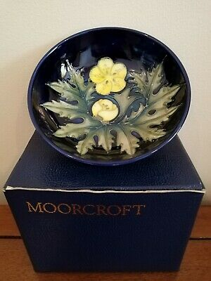 Moorcroft yellow Buttercup bowl