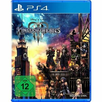 Kingdom Hearts III 3 - PS4 Account Global No Key No DVD Fast Delivery,