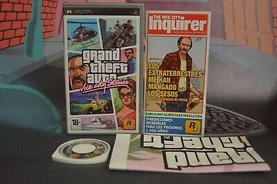 Grand Theft Auto Gta Vice City Stories Sony Psp Combined Shipping