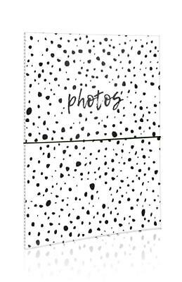 "Black Spots SlipIn Photo Album Each Holds 40 Photos 6"" x 4"" Travel Memories SPMY"