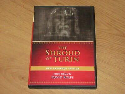 The Shroud of Turin (New Expanded Edition) Four Films by David Rolfe DVD 2-Discs