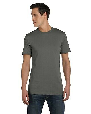 NEW Canvas T-Shirt Tee Men's Greenwich Basic 3001C White XL & More Size/Colors