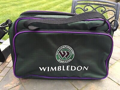 Wimbledon Small Holdall With Adjustable Strap UNUSED Green