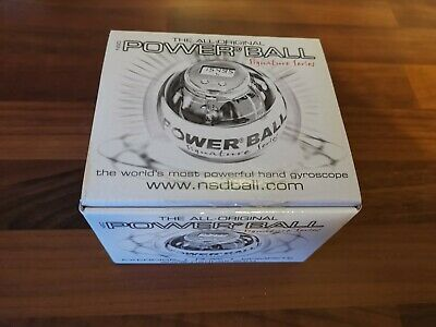 The All-Original NSD Power Ball Signature Series, Hand Gyroscope, Boxed, Fitness