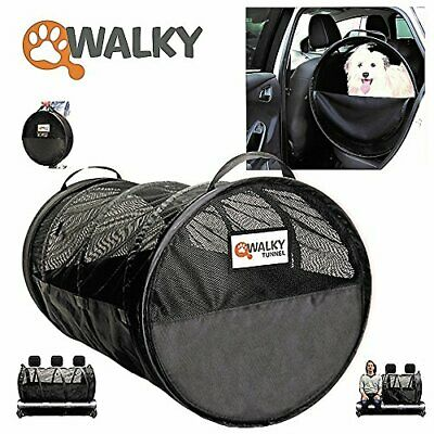 Walky Tunnel Pet Tube,Car Kennel Crate,Automotive Pet Containment Barrier Kennel
