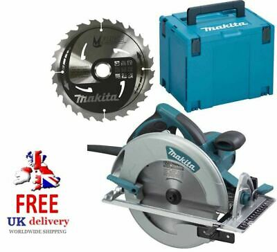 "Makita 5008MGAJ 8""/210mm Circular Saw, Carbide Tipped and MakPac Carry Case 110v"