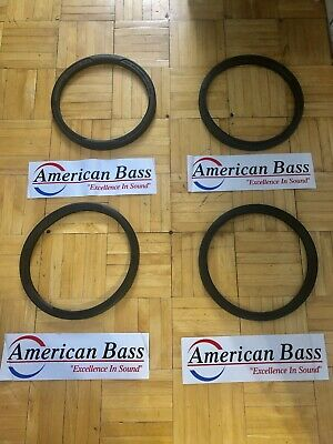 "American Bass 4 10"" Heavy Duty Speaker Covers With Four Stickers"