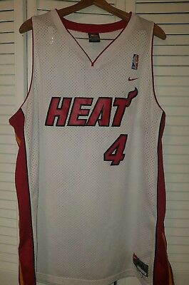 cheap for discount 47d62 63ca3 VINTAGE NIKE NBA Miami Heat C. Butler Basketball Jersey White Red 2XL +2  Length