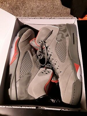 69952fb19ca72f SIZE 18 NIKE Air Jordan Retro P51 5 V Dark Stucco 136027-051 Camo ...