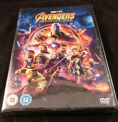 Avengers Infinity War - Marvel DVD Film - New - Too many Superheroes to list!!!