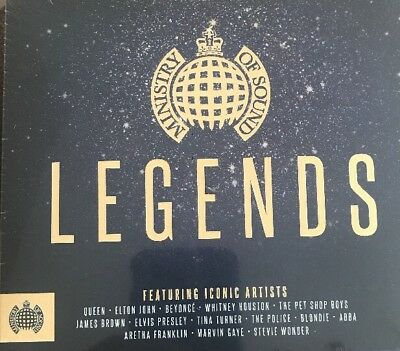Legends Ministry Of Sound 3 Cd Various Artists (2017)