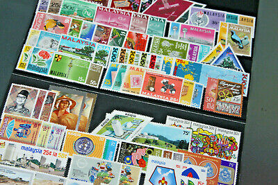 Malaysia - 1963-74 Collection In Stockcards - Much Complete - Mix Of Mnh & M/m