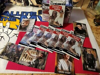 THE WALKING DEAD HUNTERS and the HUNTED PACKS,NEW SEALED.