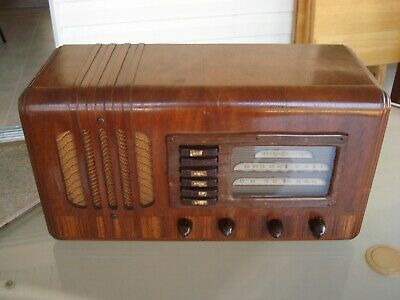 Stunning, One Family Owned, 1938 Ge, Model G-53, 5 Tube, Bc/sw Radio.