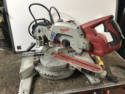 Milwaukee MS216SB 216mm Slide Compound Mitre Saw 110v