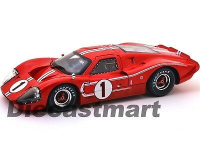 SC423 1967 Ford Gt Mk.iv Rot #1 Lemans Gewinner 24HRS 1:18 Shelby Collectibles
