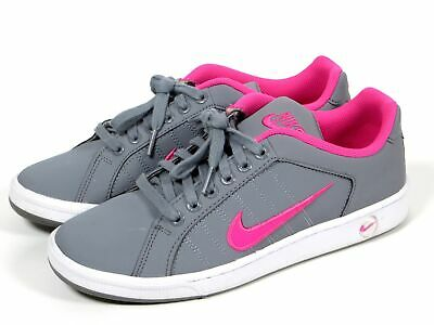 361116507d7e73 Nike Court Tradition II Shoes Women s Size 9.5 Gray White Pink  635425-