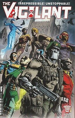THE VIGILANT #1 2000AD PRESENTS 1st PRINTING 08/2018
