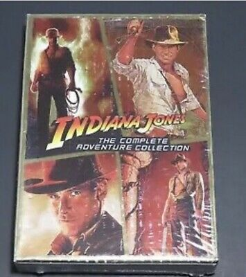Indiana Jones The Complete Adventure Collection DVD (H)