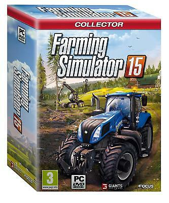 ★Games Jeu Pc Collector Farming Simulator 15 Coffret Neuf Blister ★