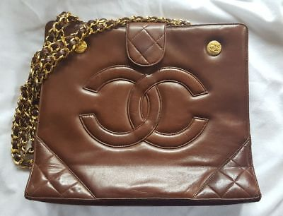 5b2d9f96c744 SAC A MAIN chanel vintage rare MADE in france - EUR 900,00   PicClick FR